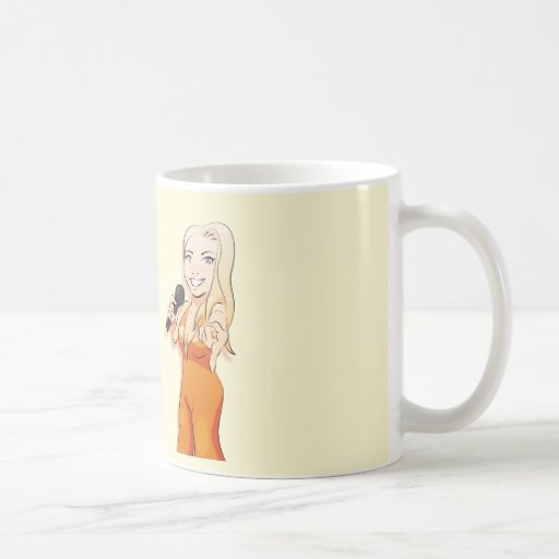 Singer Emma Cup Classic White Coffee Mug