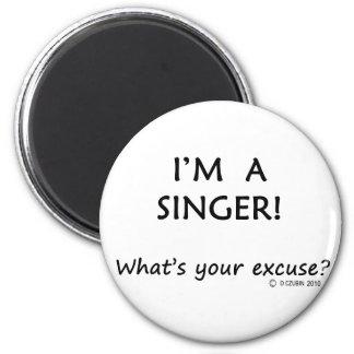 Singer Excuse 2 Inch Round Magnet