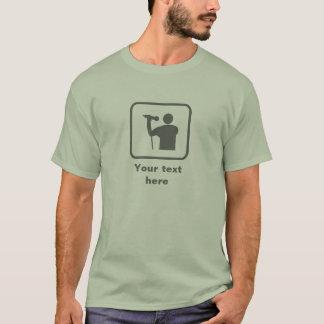 Singer -- Grey Logo -- Customizable T-Shirt