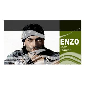 Singer Headshot for Vocalist Musician Business Cards