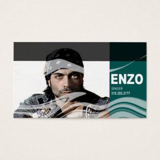 Singer Headshot for Vocalist Musician Business Card
