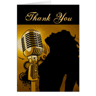Singer I Am Gold_ Greeting Card