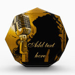 """Singer I Am,I Rock!_ Award<br><div class=""""desc"""">Award with a singer on it and you can add your name to it. Art of a female singer singing in a golden mic,  touching the hearts of many.</div>"""