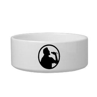 Singer Icon - Karaoke Logo Bowl