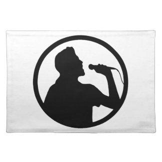Singer Icon - Karaoke Logo Placemat