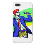 Singer in Suit and Sunglasses iPhone 5 Cover