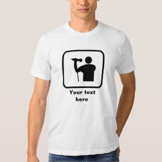 Singer Logo -- Customizable T Shirt