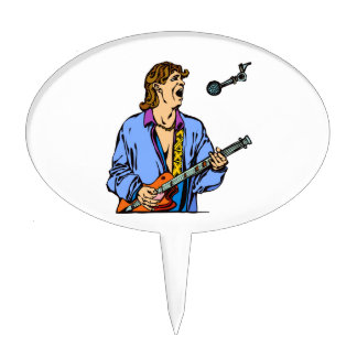 singer male realistic blue shirt mic.png cake topper
