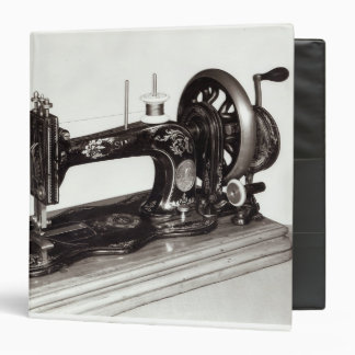 Singer 'New Family' sewing machine, 1865 3 Ring Binder