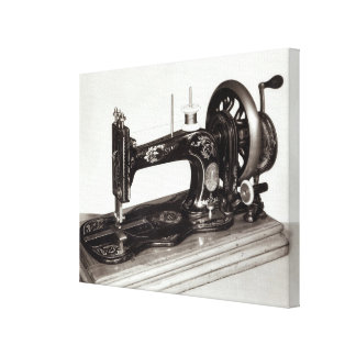 Singer 'New Family' sewing machine, 1865 Gallery Wrapped Canvas