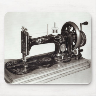 Singer 'New Family' sewing machine, 1865 Mouse Pad