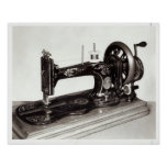 Singer 'New Family' sewing machine, 1865 Poster