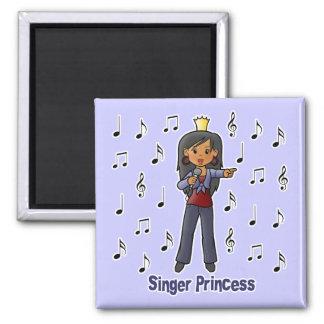 Singer Princess 2 Inch Square Magnet