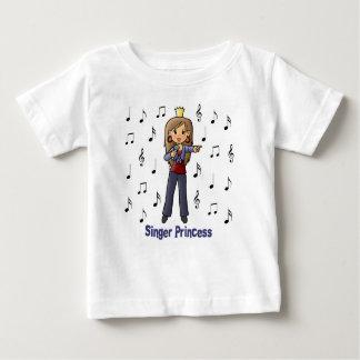 Singer Princess Baby T-Shirt