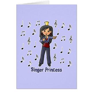 Singer Princess Card