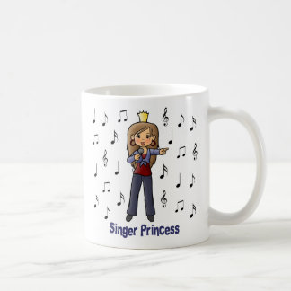 Singer Princess Coffee Mug