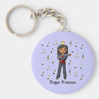 Singer Princess Keychain