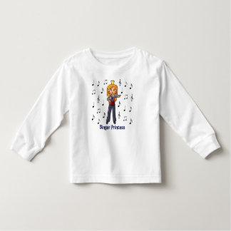 Singer Princess Toddler T-shirt