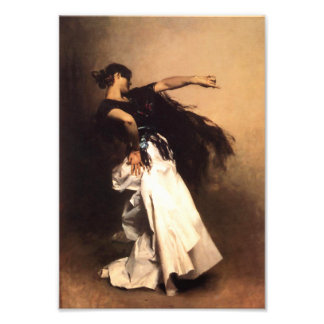 Singer Sargent Spanish Dancer Print