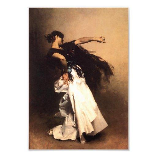 Singer Sargent Spanish Dancer Print Photo