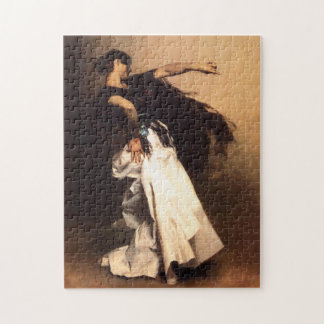 Singer Sargent Spanish Dancer Puzzle