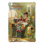 """Singer Sewing Machine """"The First Lesson"""" Vintage iPad Mini Covers"""