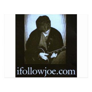 Singer/Songwriter Joe Campbell Postcard