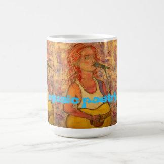 singer songwriters Music Poetry Coffee Mug