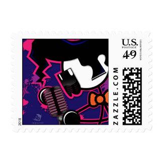 Singer Stick Postage Stamps