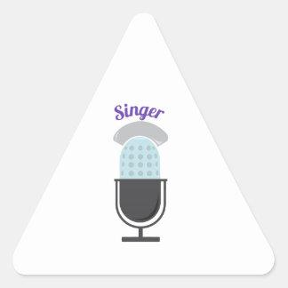 Singer Triangle Sticker