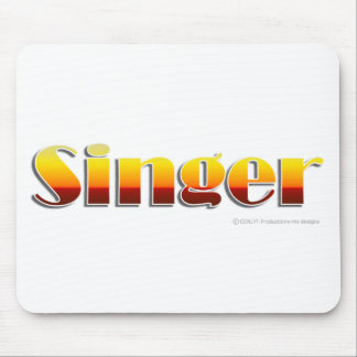 Singer Text Only Mouse Mats