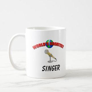Singer- Worlds Greatest Mug
