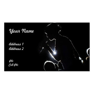 Singers Business Card