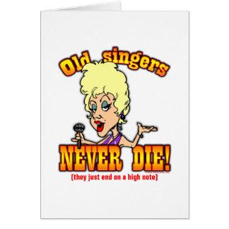Singers Card