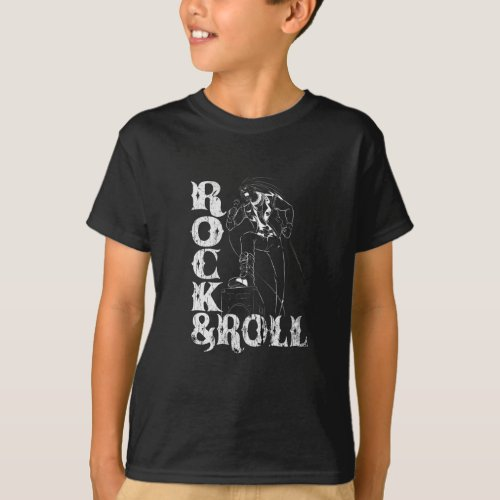 Singers Rock And Roll T_Shirt
