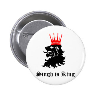 Singh is King Button