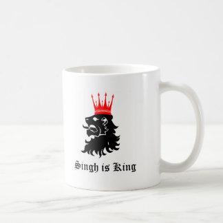 Singh is King Coffee Mugs