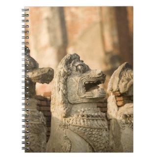 Singhat Wat Thammikarat Spiral Notebook