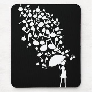 Singin en la lluvia alfombrillas de ratón