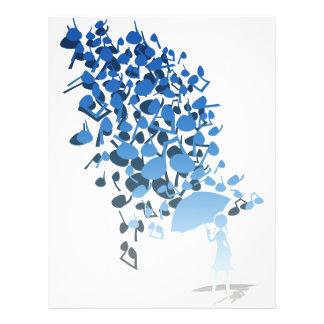 """Singin en la lluvia folleto 8.5"""" x 11"""""""