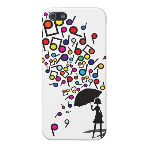 Singin en la lluvia iPhone 5 funda