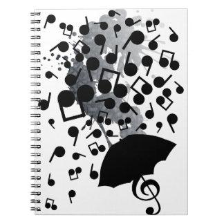 Singin en la lluvia libro de apuntes