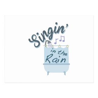 Singin In Rain Postcard