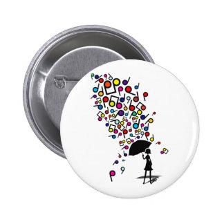Singin' in the Rain 2 Inch Round Button