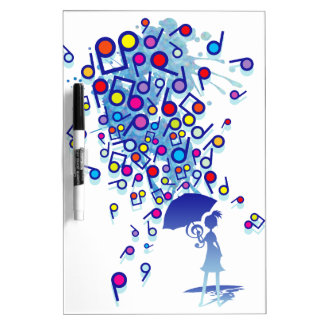 Singin' in the Rain Dry Erase Board