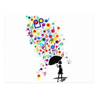 Singin' in the Rain Postcard
