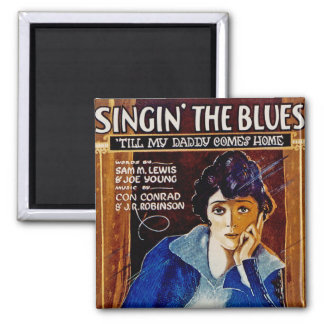 Singin' The Blues Magnet