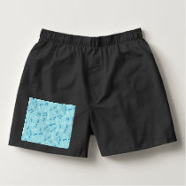 Singin the Blues Musical Pattern Boxers