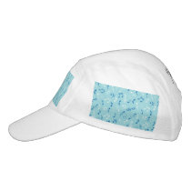 Singin the Blues Musical Pattern Hat