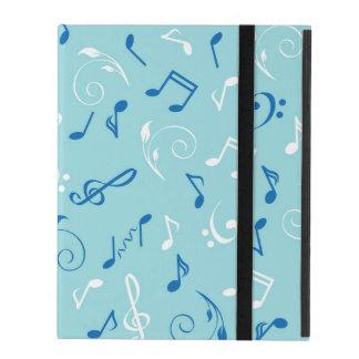 Singin the Blues Musical Pattern iPad Folio Case